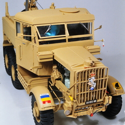 Scammell Pioneer wrecker military