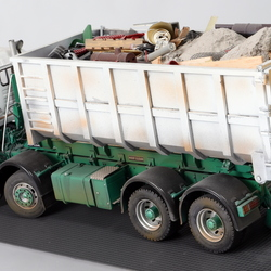 ERF roll on skip M&H Plant